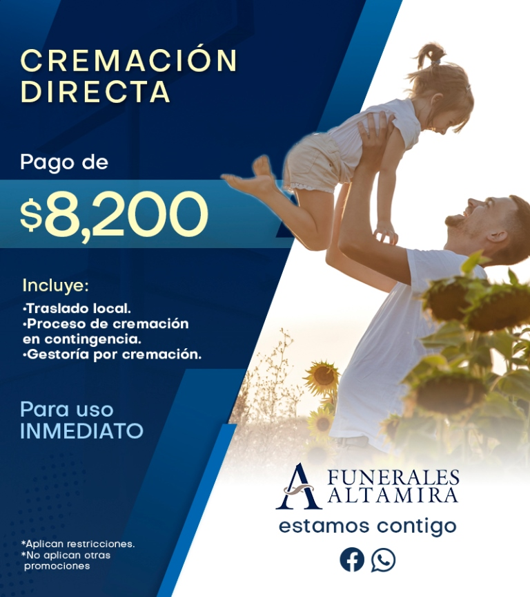 Cremacion Directa Organica